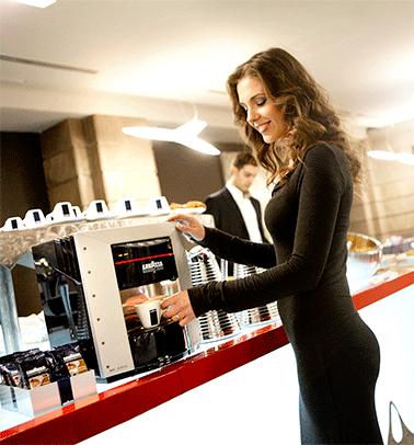 Kaffeemaschine Industrie Beispiel Bild