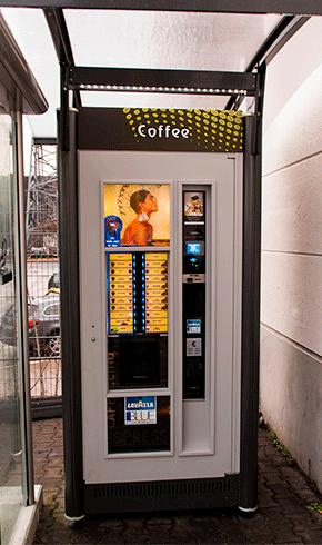 Outdoor Kaffeeautomat editho