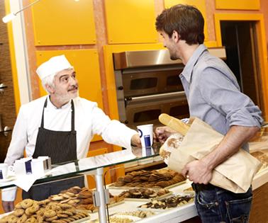 Kaffeevollautomat für Bäckerei